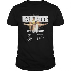Bad boys 25th anniversary 19952020 signature shirt