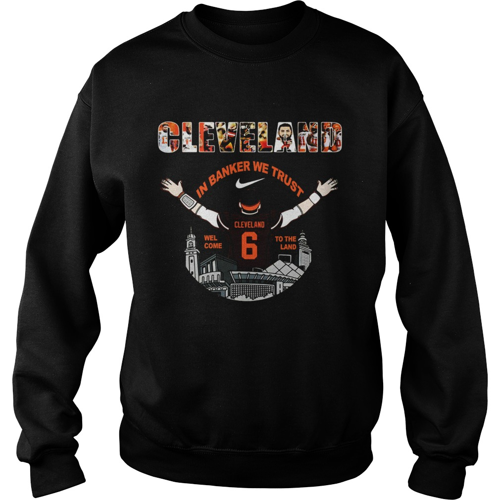 Baker Mayfield Player Cleveland Browns NFL 2019 Sweatshirt