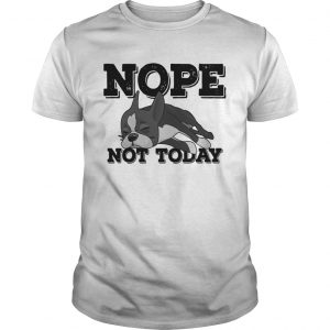 Boston Terrier Nope Not Today Shirt