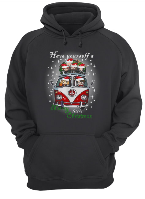Hippie car Harry Potter have yourself a Merry little Christmas  Unisex Hoodie