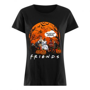 Jesus that's how I saved the halloween Horror characters  Classic Women's T-shirt
