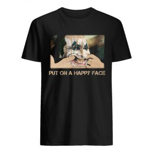 Joker Joaquin Phoenix Put on a happy face  Classic Men's T-shirt