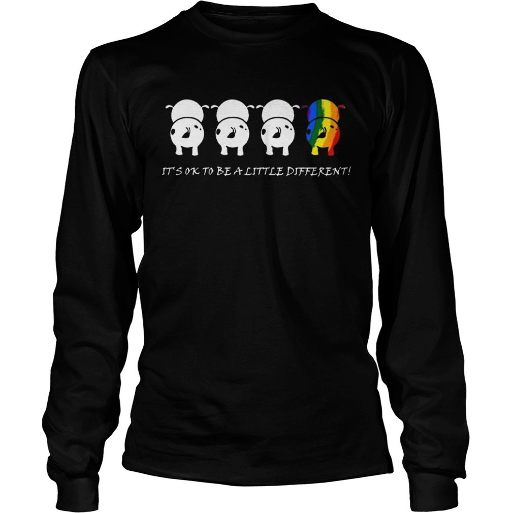LGBTcow Its ok to be a little different t LongSleeve
