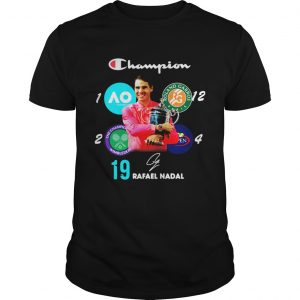 Living Legend 18 Grand Slam Rafael Nadal Signature shirt
