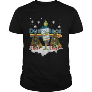 Official Grinch hug Dutch Bros Coffee Christmas shirt