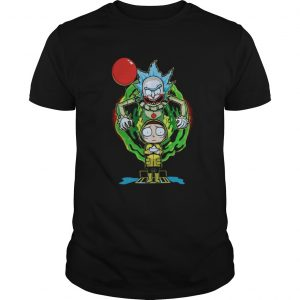 Pennywise IT Rick and Morty Halloween shirt
