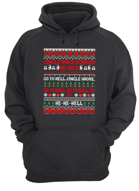 Phoebe Friends jingle bitch screwed me over  Unisex Hoodie