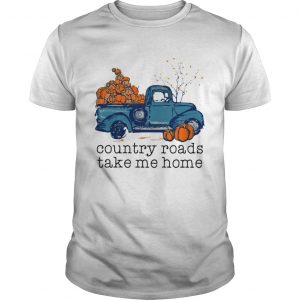 Truck pumpkin Country roads take me home shirt