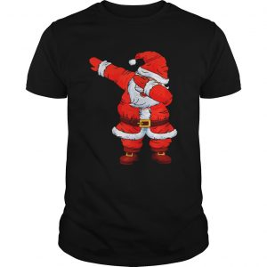 Dabbing Santa Christmas Boys Girls Kids Men Women Xmas Gifts TShirt Unisex