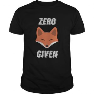 Fox zero given  LlMlTED EDlTlO Unisex