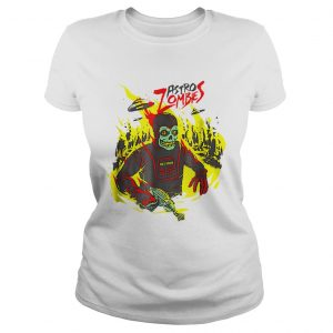 Halloween Astro Zombies Monster Scifi Gift Skate  Classic Ladies