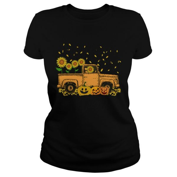 Halloween Car Pumpkin Happiness Is Being A Mimi TShirt Classic Ladies