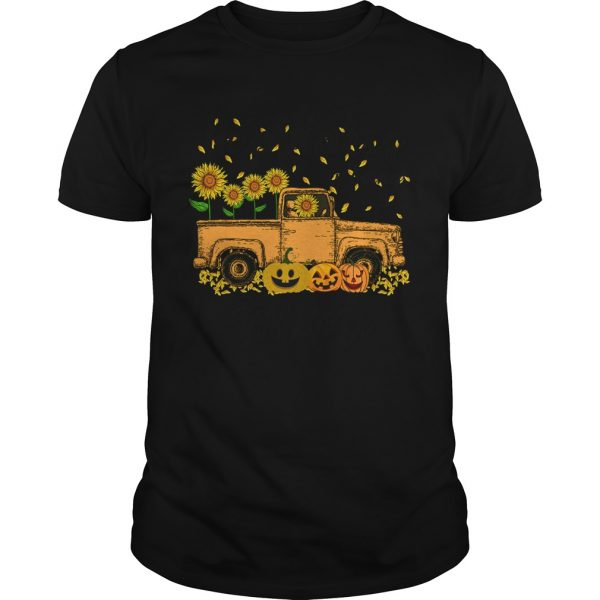 Halloween Car Pumpkin Happiness Is Being A Mimi TShirt Unisex