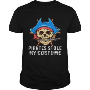 Halloween Pirates Stole My Costume Easy Outfit Adults  Unisex