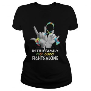 In this family no one fights alone Autism  Classic Ladies