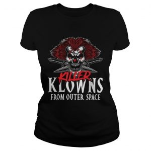Killer Klowns From Outer Space Scary Clown Halloween  Classic Ladies