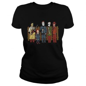 King of the hell Leatherface Chucky Michael Myers Halloween  LlMlTED EDlTlON Classic Ladies