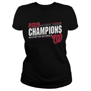 Nationals 2019 National League Champions Shirt Classic Ladies