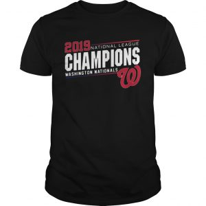 Nationals 2019 National League Champions Shirt Unisex