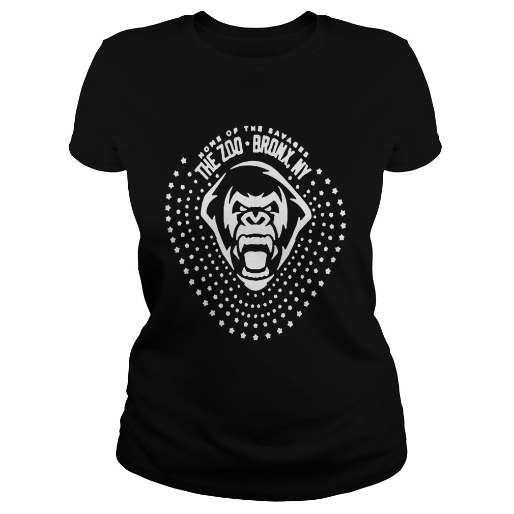 The Zoo Bronx Ny Yankees Savages T Shirt Classic Ladies