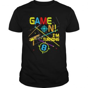 1574065816Laser Tag Birthday Party Game On Im Turning 8  Unisex