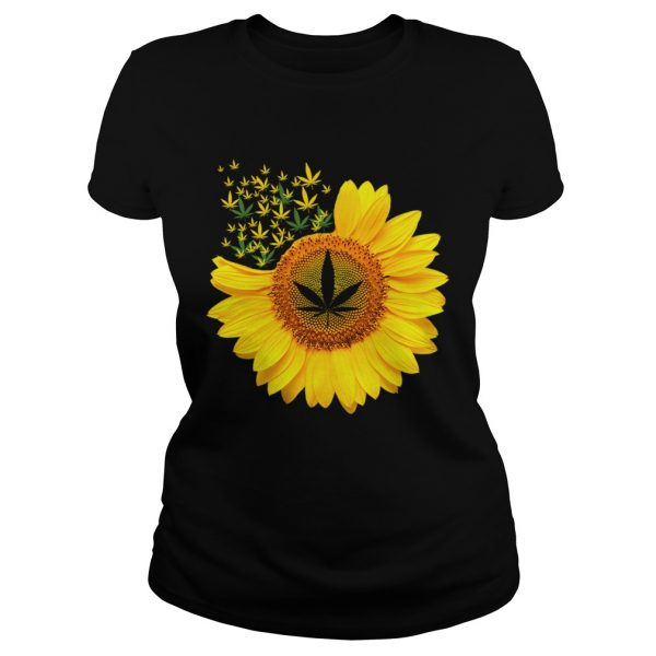 Canabis Weed Sunflower  Classic Ladies