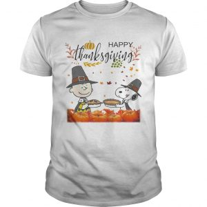 Charlie Brown And Snoopy Peanuts Happy Thanksgiving  Unisex