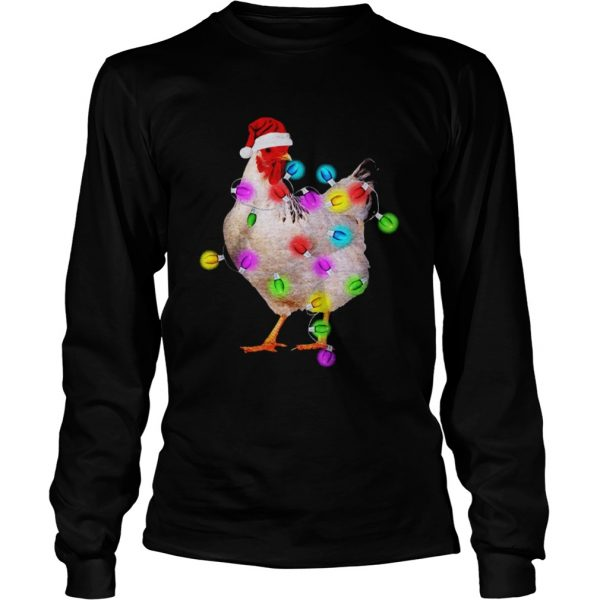 Chicken With Christmas Light  LongSleeve