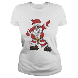 Christmas Dabbing Santa  Classic Ladies