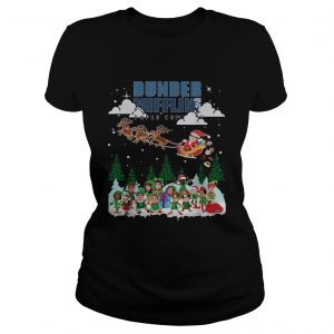 Dunder Mifflin Inc paper company Ugly Christmas  Classic Ladies