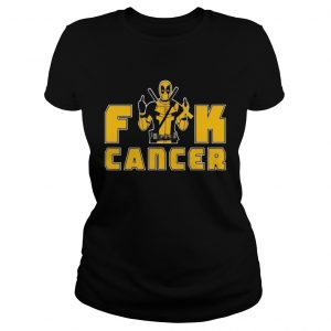Fuck Appendix Cancer Deadpool Funny Cancer Awareness  Classic Ladies