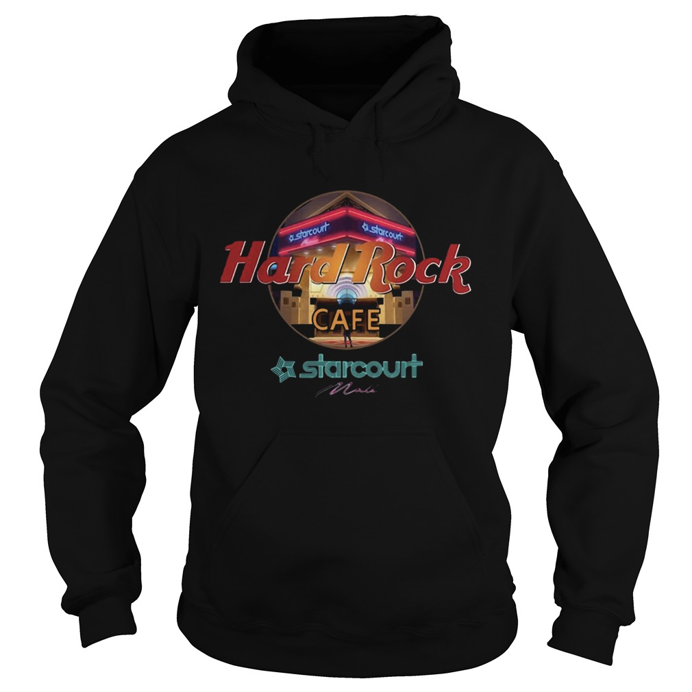Hard Rock Cafe Starcourt Mall Hoodie