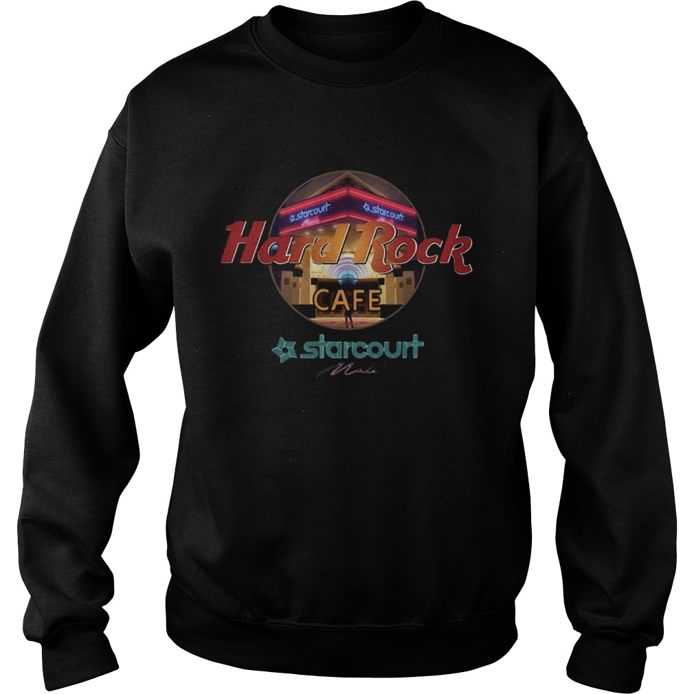 Hard Rock Cafe Starcourt Mall Sweatshirt