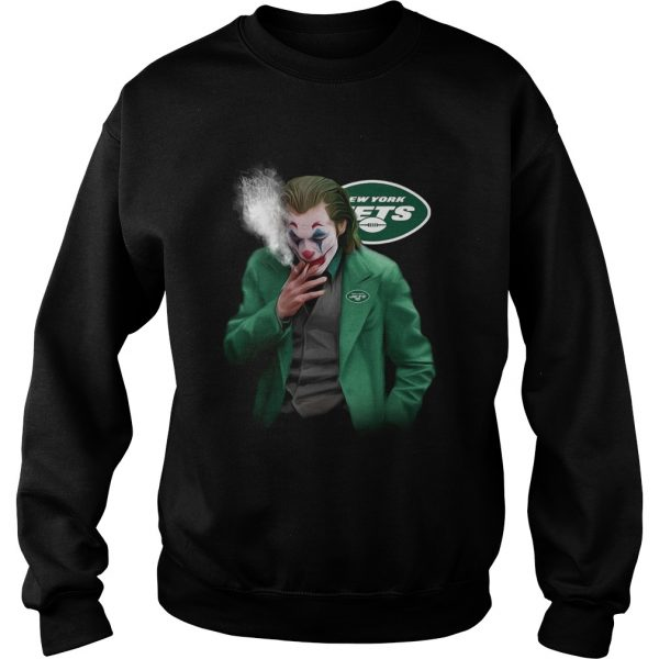 New York Jets Joker smoking  Sweatshirt