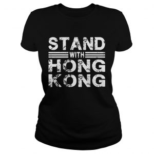 Stand With Hong Kong Grunge  Classic Ladies