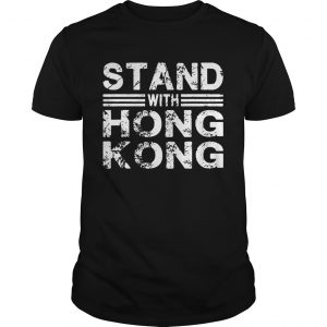 Stand With Hong Kong Grunge  Unisex