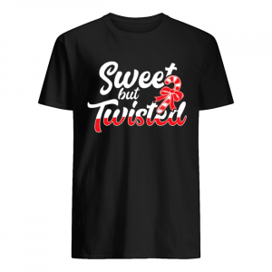 Sweet But Twisted Funny Candy Cane  Classic Men's T-shirt