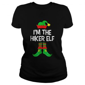 Top Im The Hiker Elf Matching Family Group Christmas  Classic Ladies