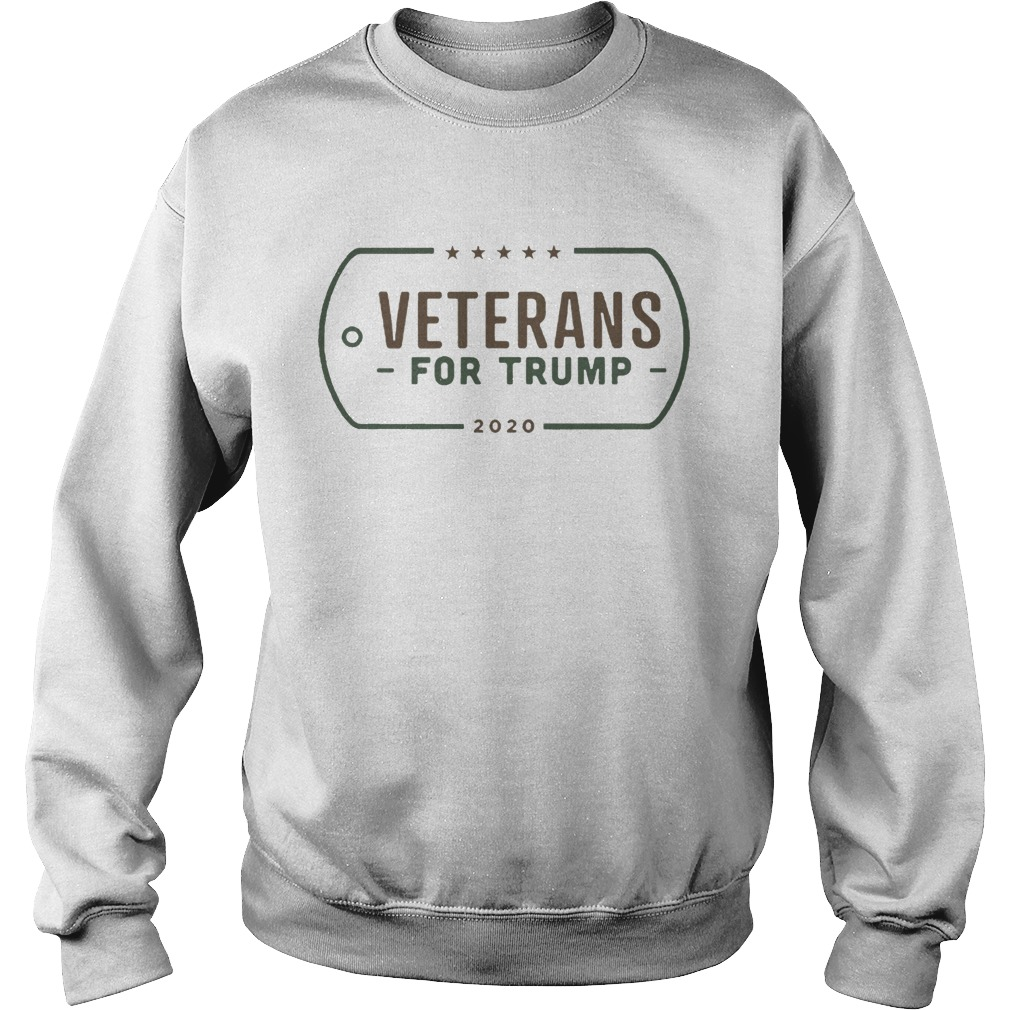 Veterans for Donald Trump Sweatshirt
