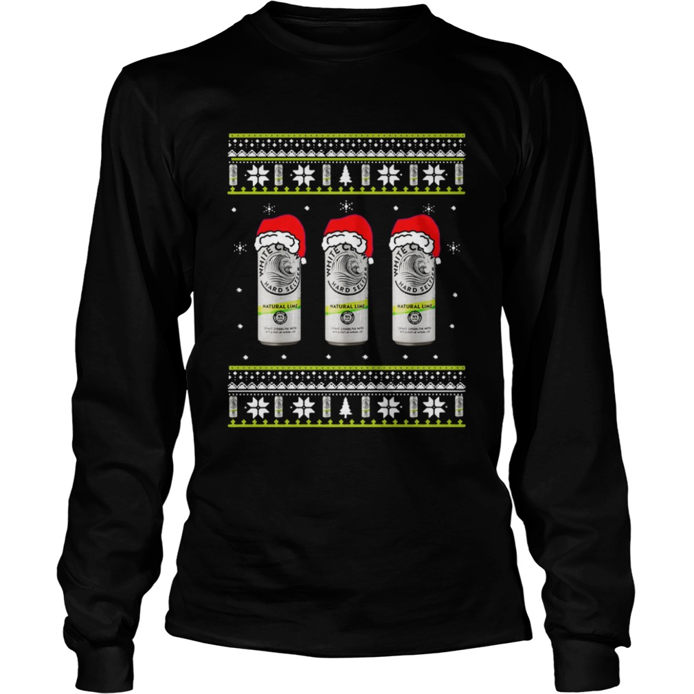 White Claw Natural Lime Ugly Christmas LongSleeve