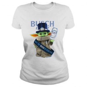 Baby Yoda Busch Light May The Busch Be With You  Classic Ladies