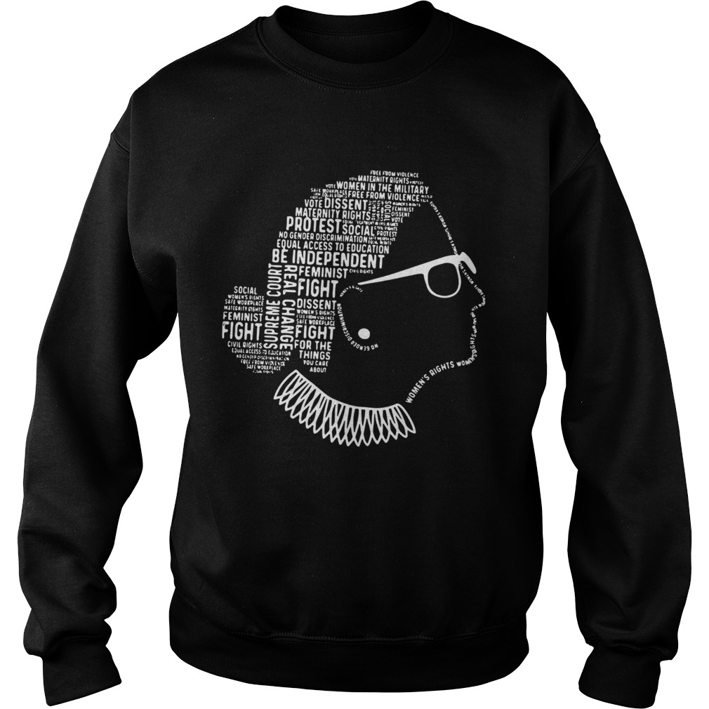 Be Independent RBG Silhouette  Sweatshirt