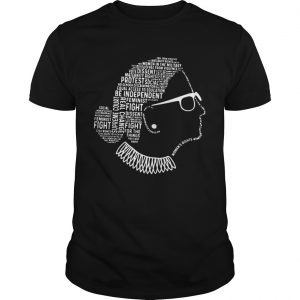 Be Independent RBG Silhouette  Unisex