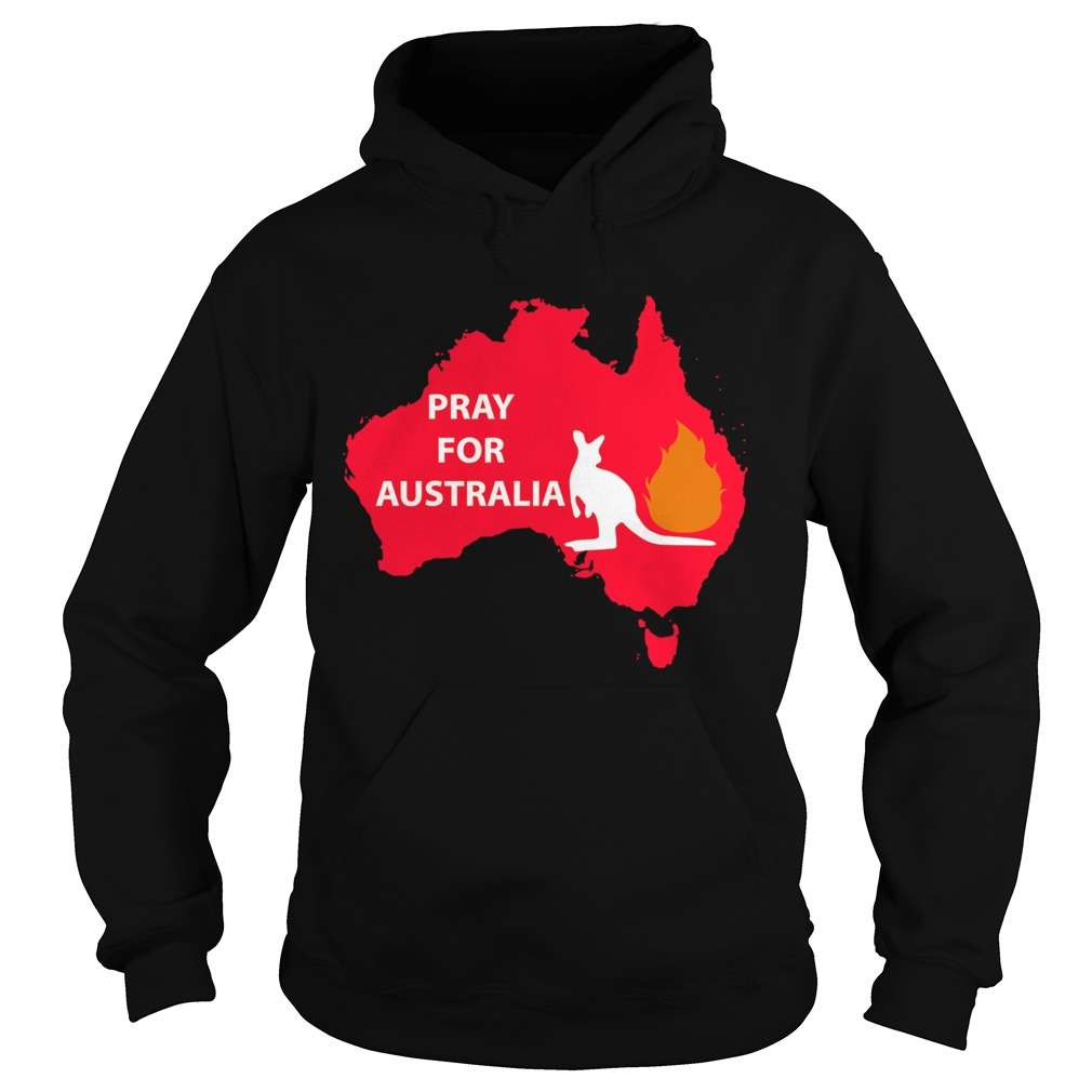Pray for Australia Kangaroo fire  Hoodie