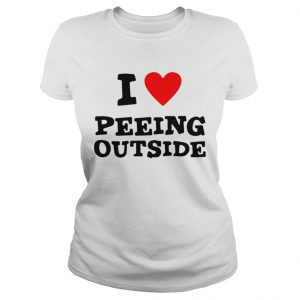 I love peeing outside  Classic Ladies
