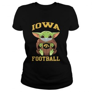 Baby Yoda Face Mask Hug Lowa Football  Classic Ladies