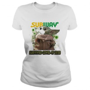 Baby Yoda Mask Subway Survived Covid 19 2020  Classic Ladies