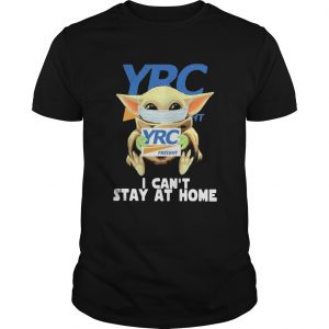 Baby Yoda mask YRC Freight I cant stay at home  Unisex