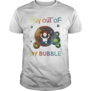 Stay out of my bubble java html css Covid19 mask  Unisex
