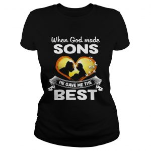 When God Made Sons He Gave Me The Best  Classic Ladies